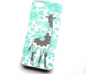 Aztec Sun Giraffe iPhone 4 iPhone 4S Case Comes in White Plastic Case